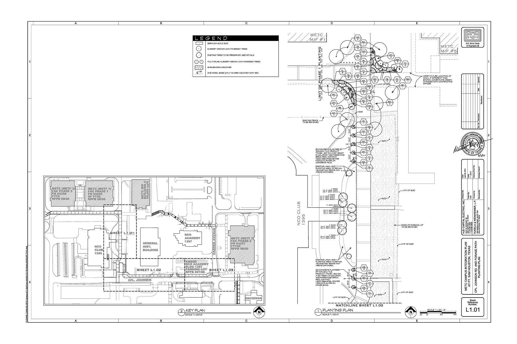 Fort sam houston san antonio military 39 s medical for Construction drawing
