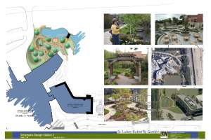 St. Luke's Butterfly Garden Schematic Design